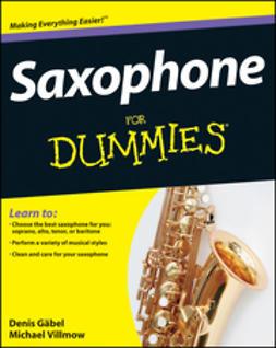 G?bel, Denis - Saxophone For Dummies, e-bok