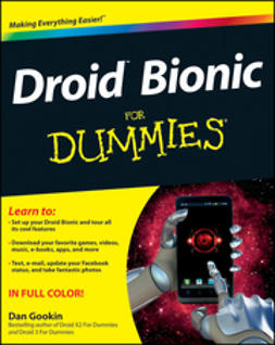 Gookin, Dan - Droid Bionic For Dummies, e-kirja