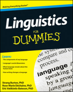 Dechaine, Rose-Marie - Linguistics For Dummies, e-bok