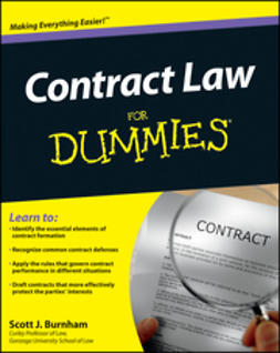 Burnham, Scott J. - Contract Law For Dummies, ebook