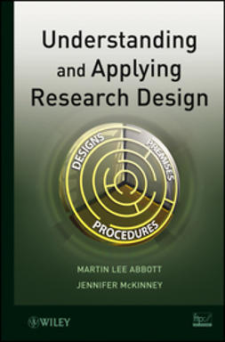 Abbott, Martin Lee - Understanding and Applying Research Design, e-kirja