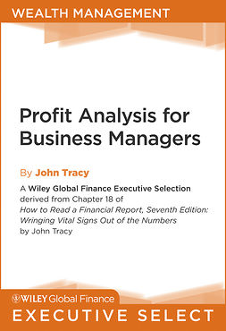 Tracy, John A. - Profit Analysis for Business Managers, ebook