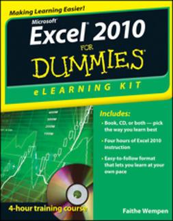 Wempen, Faithe - Excel 2010 eLearning Kit For Dummies, e-kirja