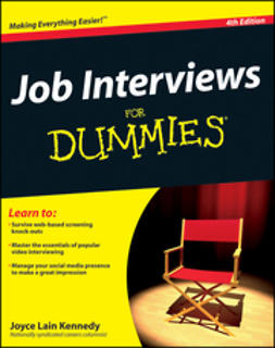 Kennedy, Joyce Lain - Job Interviews For Dummies, ebook