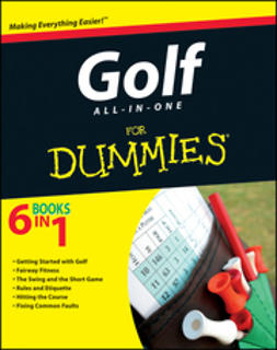 UNKNOWN - Golf All-in-One For Dummies, e-kirja