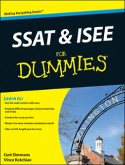 Kotchian, Vince - SSAT and ISEE For Dummies, ebook