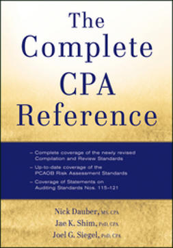 Dauber, Nick A. - The Complete CPA Reference, ebook