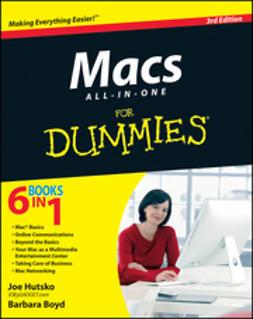 Hutsko, Joe - Macs All-in-One For Dummies, e-bok