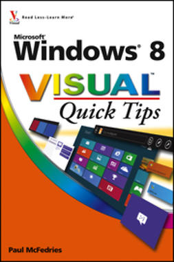 McFedries, Paul - Windows 8 Visual Quick Tips, ebook