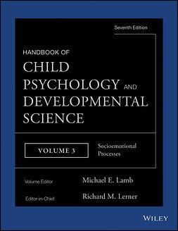 Lamb, Michael E. - Handbook of Child Psychology and Developmental Science, Socioemotional Processes, e-bok