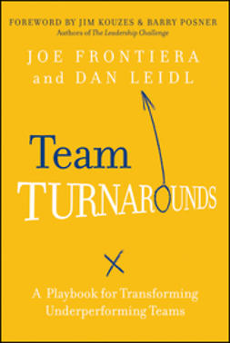 Frontiera, Joe - Team Turnarounds: A Playbook for Transforming Underperforming Teams, ebook