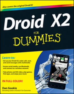 Gookin, Dan - Droid X2 For Dummies, e-kirja