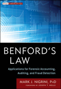 Nigrini, Mark J. - Benford's Law: Applications for Forensic Accounting, Auditing, and Fraud Detection, ebook
