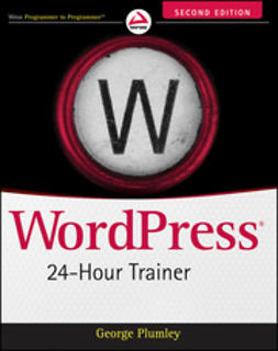 Plumley, George - WordPress 24-Hour Trainer, ebook