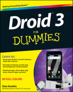 Gookin, Dan - Droid 3 For Dummies, e-kirja