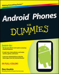 Gookin, Dan - Android Phones For Dummies, e-kirja