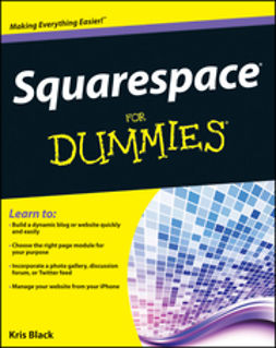 Black, Kris - Squarespace For Dummies, ebook