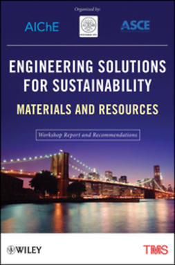 UNKNOWN - Engineering Solutions for Sustainability: Materials and Resources, ebook