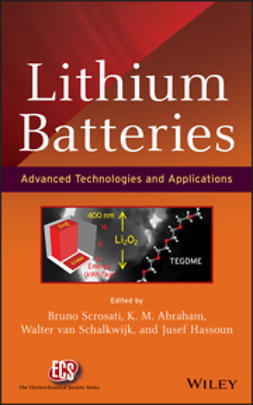 Scrosati, Bruno - Lithium Batteries: Advanced Technologies and Applications, ebook