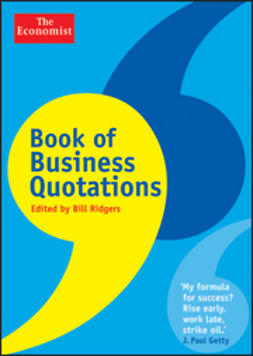 Ridgers, Bill - Book of Business Quotations, ebook