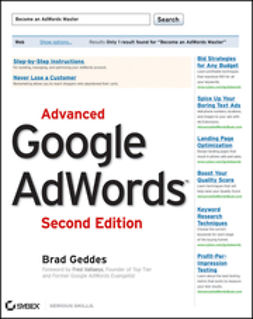 Geddes, Brad - Advanced Google AdWords, e-kirja