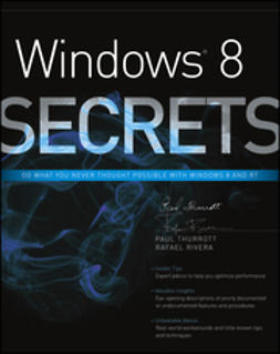 Thurrott, Paul - Windows 8 Secrets, e-bok