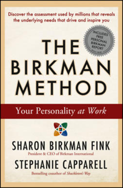 Capparell, Stephanie - The Birkman Method: Your Personality at Work, ebook
