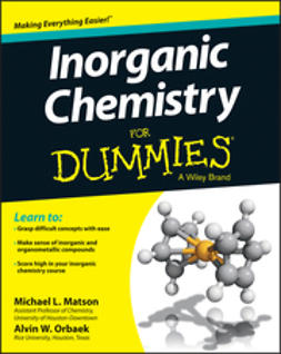 Matson, Michael - Inorganic Chemistry For Dummies, ebook