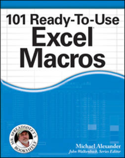 Alexander, Michael - 101 Ready-To-Use Excel Macros, ebook