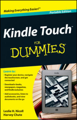 UNKNOWN - Kindle Touch For Dummies, ebook