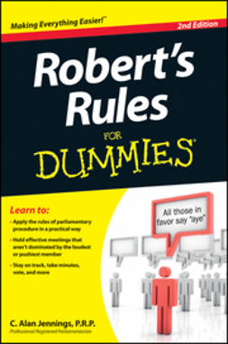 Jennings, C. Alan - Robert's Rules For Dummies, ebook
