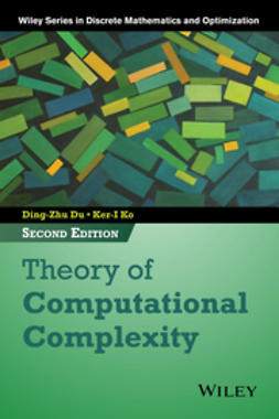 Du, Ding-Zhu - Theory of Computational Complexity, ebook
