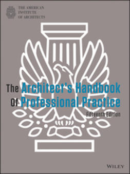 - The Architect's Handbook of Professional Practice, ebook