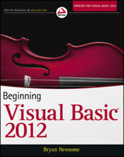 Newsome, Bryan - Beginning Visual Basic 2012, e-bok