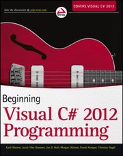 Hammer, Jacob Vibe - Beginning Visual C# 2012 Programming, e-bok