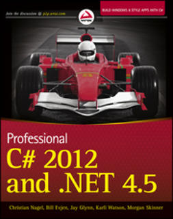 Nagel, Christian - Professional C# 2012 and .NET 4.5, e-bok