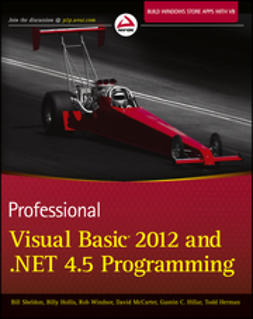 Herman, Todd - Professional Visual Basic 2012 and .NET 4.5 Programming, e-bok