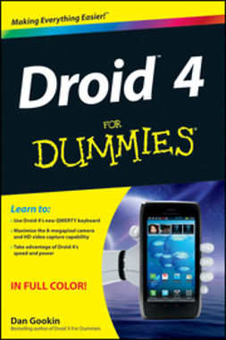 Gookin, Dan - Droid 4 For Dummies, e-kirja