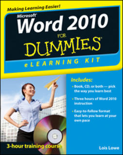 Lowe, Lois - Word 2010 eLearning Kit For Dummies, ebook