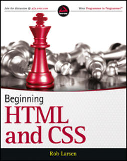 Larsen, Rob - Beginning HTML and CSS, e-kirja