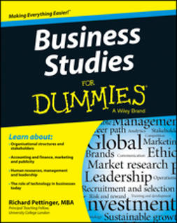 Pettinger, Richard - Business Studies For Dummies, ebook
