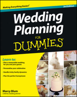 Blum, Marcy - Wedding Planning For Dummies, e-bok