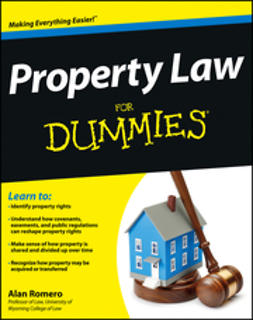 Romero, Alan R. - Property Law For Dummies, ebook