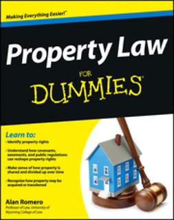 Romero, Alan R. - Property Law For Dummies, ebook