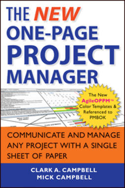 Campbell, Clark A. - The New One-Page Project Manager: Communicate and Manage Any Project With A Single Sheet of Paper, ebook