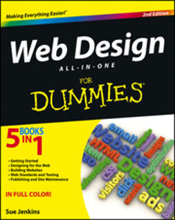 Jenkins, Sue - Web Design All-in-One For Dummies, e-kirja