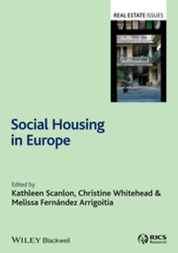 Scanlon, Kathleen - Social Housing in Europe, e-kirja