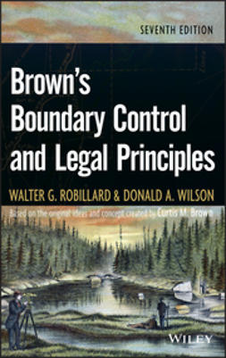 Robillard, Walter G. - Brown's Boundary Control and Legal Principles, ebook