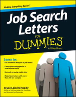 - Job Search Letters For Dummies, ebook