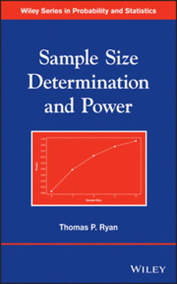 Ryan, Thomas P. - Sample Size Determination and Power, ebook